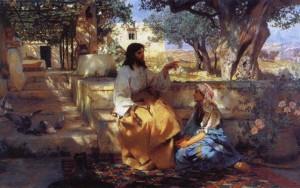 """""""Христос у Марфы и Марии"""""""