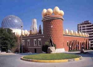 Театр-музей Сальвадора Дали в Фигерас