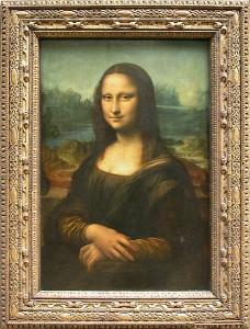 """Портрет госпожи Лизы Джокондо""(Мона Лиза) Леонардо да Винчи"