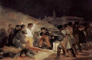 """""""Расстрел мадридских повстанцев в ночь на 3 мая 1808 года"""""""