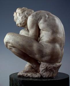 Микеланджело «Скорчившийся мальчик»