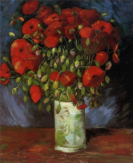 """Ваза с красными маками"" - Винцент Ван Гог"